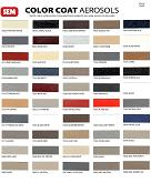 Auto Cosmetics Mobile Tech Products Color Charts
